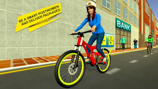 Working Mom Delivery Girl New Family Game 1.0 screenshots 1