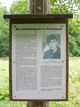 Photo: 7e Dag, woensdag 22 juli 2009 Shellbronn -Melchingen Dag afstand: 81,6 km. Totaal gereden: 664 km. Het soldatengraf in bos Schonbuch.