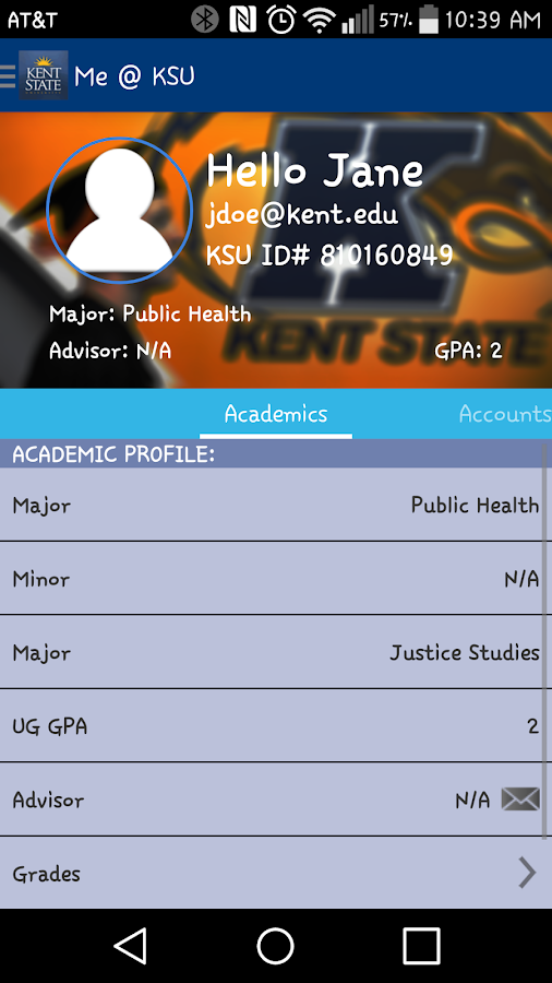 KSU Mobile- screenshot
