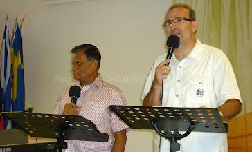 Photo: Jacob Igével, prófétai szóval és személyes bizonysággal szolgált közöttünk.
