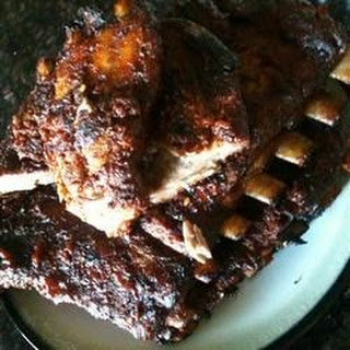 Smoked Pork Spare Ribs