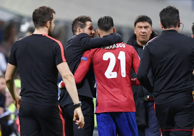"""Yannick Carrasco encense Diego Simeone : """"El Cholo est un coach à part"""""""