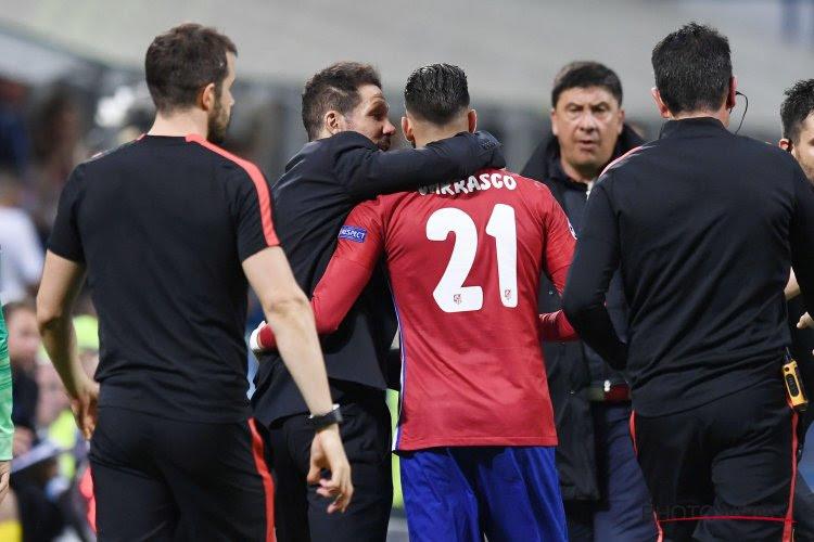 """Diego Simeone encense son Diable Rouge: """"Il a dû travailler dur, on voit le résultat!"""""""
