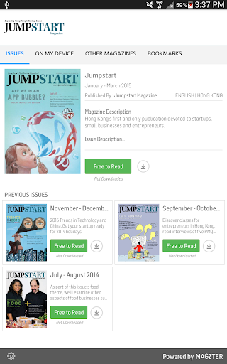 Jumpstart 7.2.2 screenshots 1