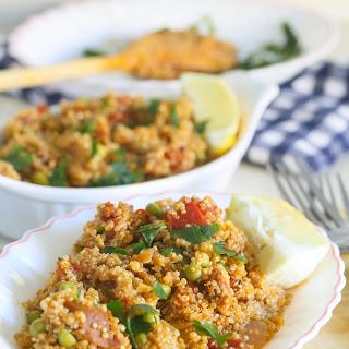 Quinoa Chorizo Paella