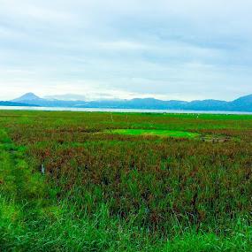 Danau tondano by Rizal Pungus - Landscapes Prairies, Meadows & Fields