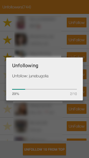 App Unfollow Users APK for Windows Phone