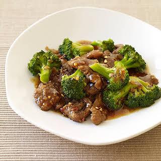 Beef and Broccoli Stir-Fry.