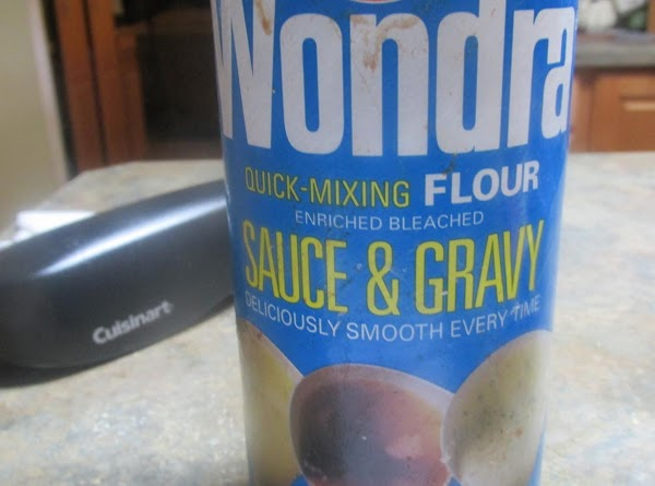 Combine 2 tablespoons of WONDRA flour with 1/4 cup of water, and blend with...