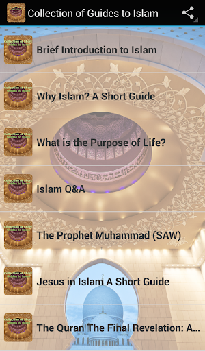 Collection of Guides to Islam