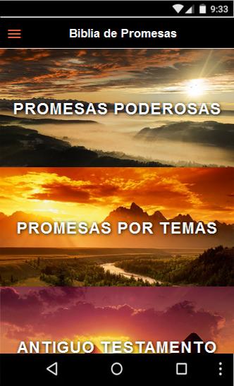 Versiculos Biblicos De Promesas De Dios: Promesas Y Versiculos Biblicos