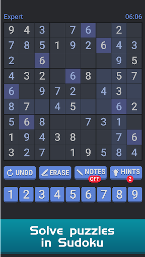Sudoku Free Puzzle - Offline Brain Number Games 2.2 screenshots 4