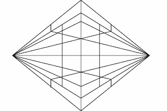 Photo: See what I mean about all the straight edge reference lines? The 2-point perspective method made easy in Adobe Illustrator.