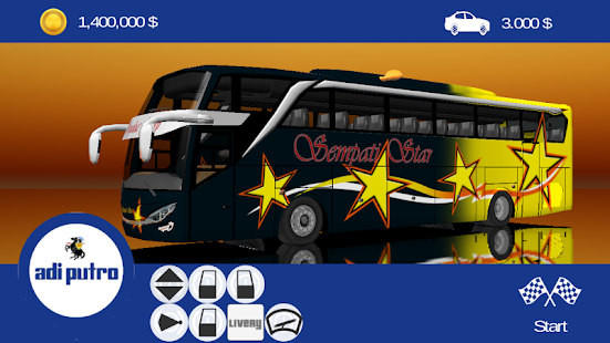Livery ES Bus Simulator ID - náhled