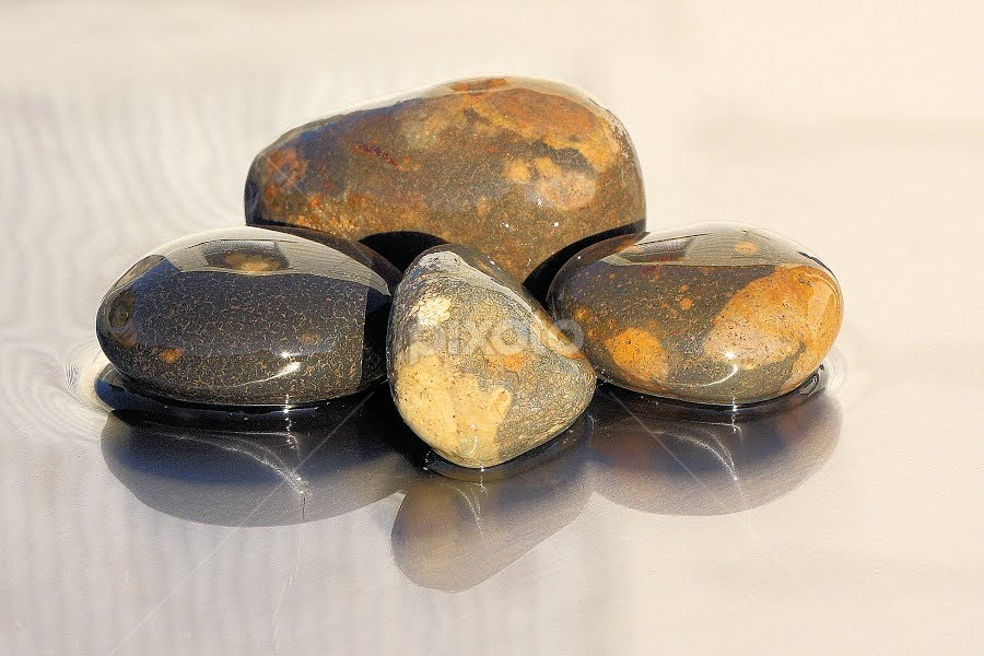 Pebbles 2 by Val  Ford - Artistic Objects Other Objects