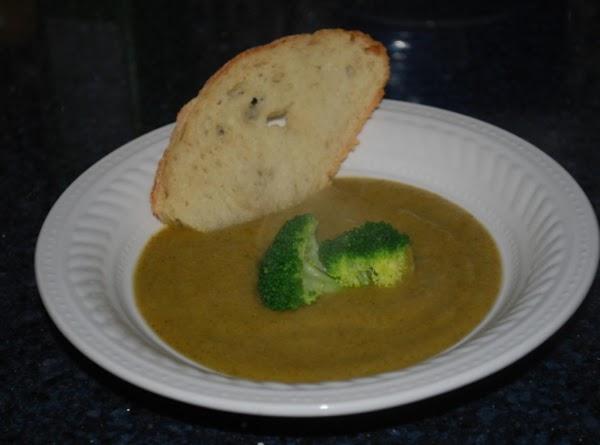 No Cream -  Cream Of Broccoli Soup Recipe