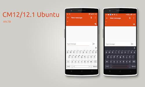 CM12/12.1 Ubuntu theme v1.4