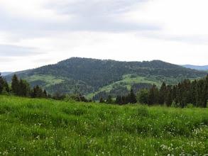 Photo: 21.Ostra (780 m) i Ogorzała (806 m).