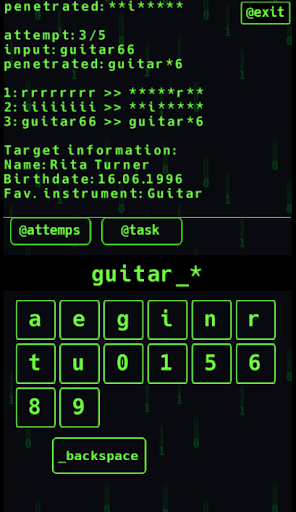 I Hacker - Password Game 1.0.2 screenshots 4