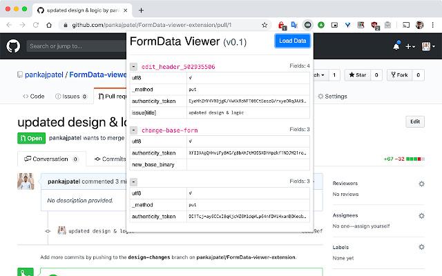 FormData Viewer