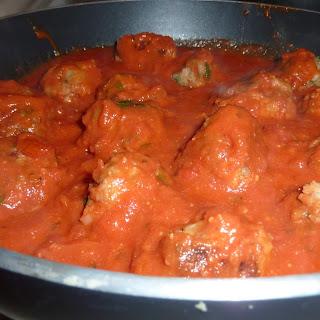 Vegetarian Spaghetti & Meatballs