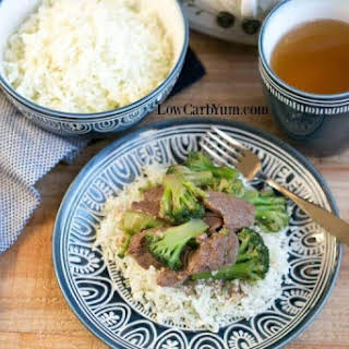 Slow Cooker Crock Pot Beef and Broccoli.