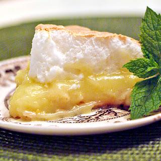 Lemon Meringue Pie.