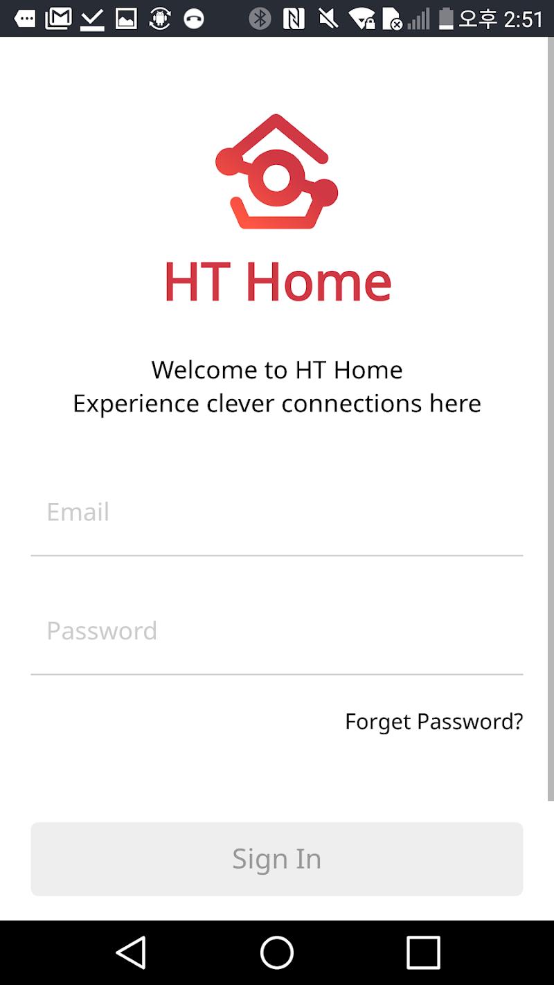 Скриншот HT Home