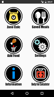 Zone Diet Pro- screenshot thumbnail