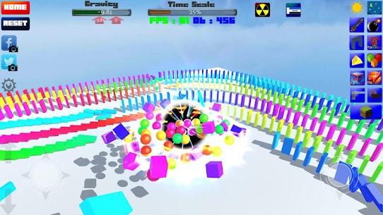 CUBE Physics Simulation 8