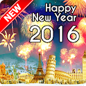 Happy New Year 2016 Wallpaper icon