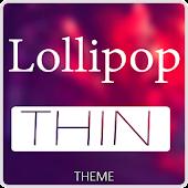 Xperien Theme Lollipop Thin