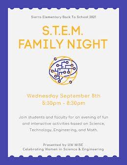 STEM Family Night - Flyer item