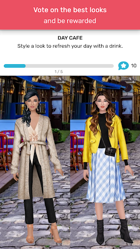 Trendy Stylist - Fashion Game 👠💄  screenshots 5