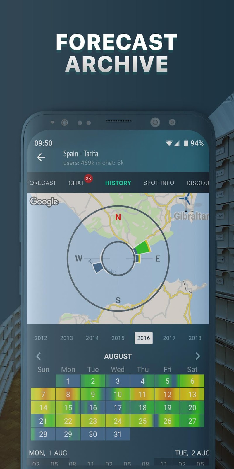 Windy.app: wind forecast & marine weather Screenshot 5