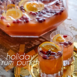 Holiday Rum Punch.