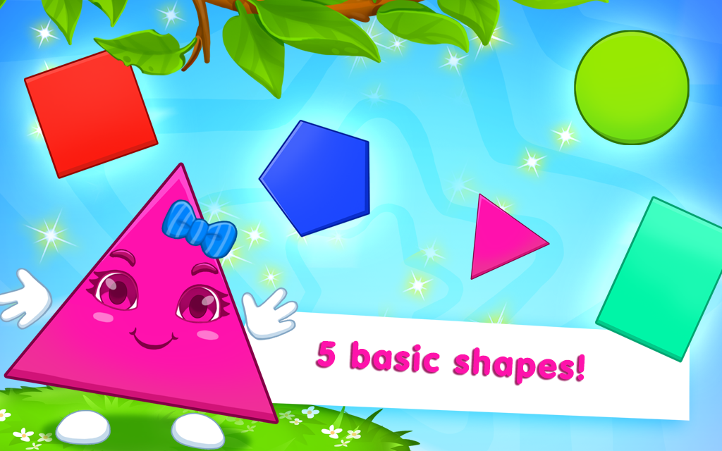 Learning Shapes And Colors For Toddlers: Kids Game