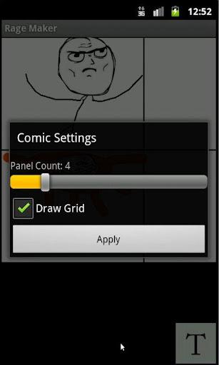 Rage Comic Maker screenshot 2
