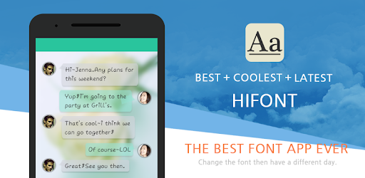 HiFont - Cool Font Text Free app (apk) free download for Android/PC/Windows screenshot