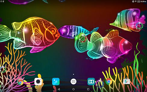 Neon Fish Live Wallpaper 4