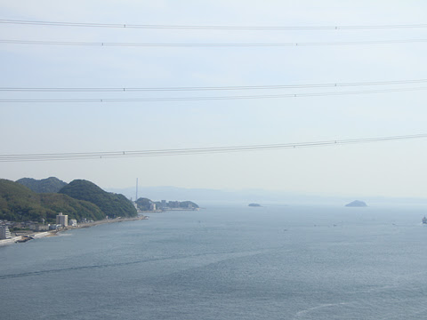 西鉄「はかた号」 0001 関門橋通過