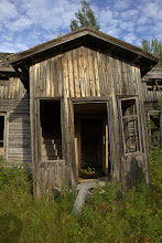 Photo: Old building in Oulanka