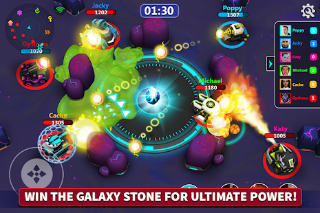 Tank Raid Online 2 - 3D Galaxy Battles Screenshot