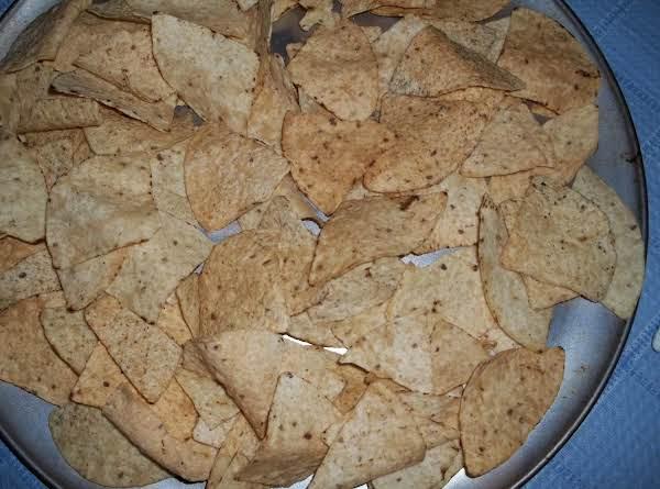 Homemade Baked Tortilla Chips (sallye)