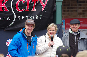 Photo: Ted's parents talk the joy of sharing Ted's success with the Park City community.