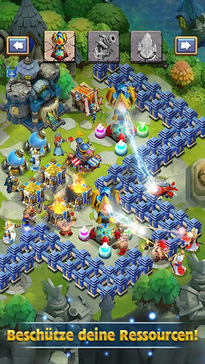 Castle Clash: King's Castle DE - screenshot