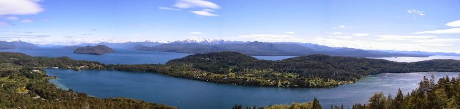 Photo: Lago Nahuel Huapi panorama