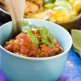 Spicy Tomato Sambal Sauce