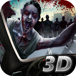 Zombie Death Car Racing 3D Icon