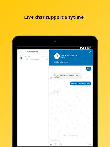 X-VPN - Free VPN Proxy| Unblock Sites&Privacy Android app 12